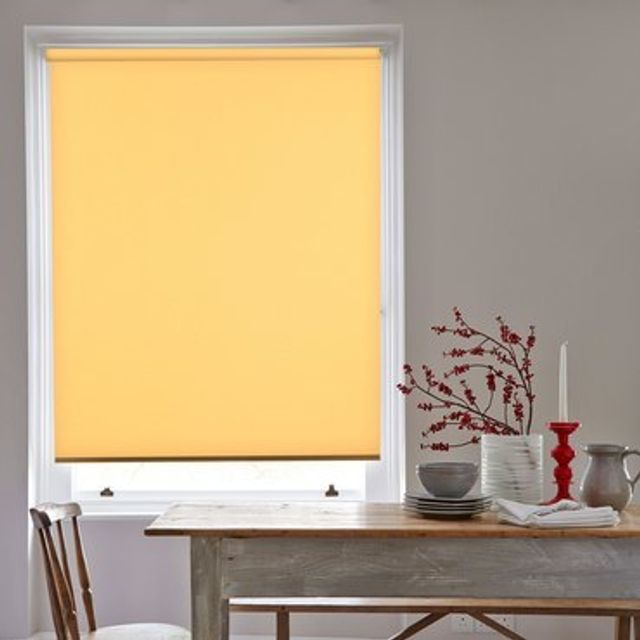 Roller Blind_Acacia Buttercup_Roomset