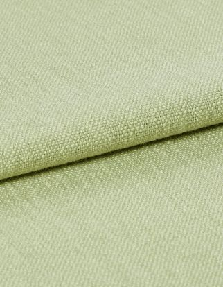 Light green fabric on a fine material