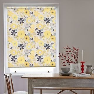 Roller Blind_Clara Lemon_Roomset