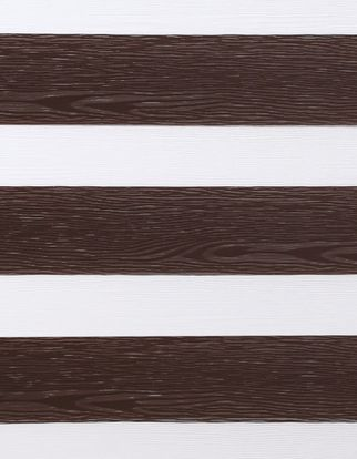 Daybreak brown which is a dark brown wood textured swatch that is striped with white