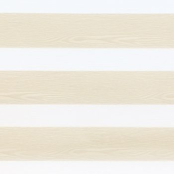 Light wood textured stripes are matched with white in a repeating horizontal pattern to create the daybreak cream swatch