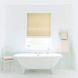 Roman Blind_Clarence Natural_Roomset