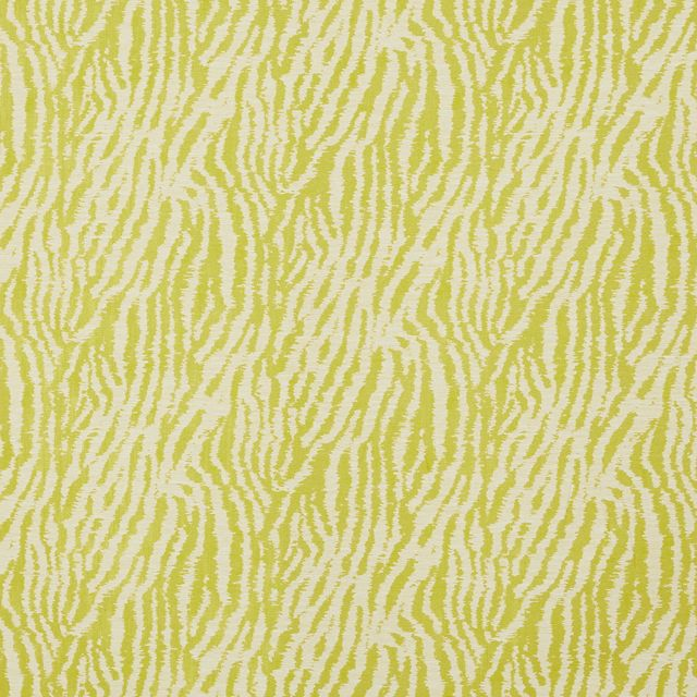Impala Citrine fabric swatch with white pattern