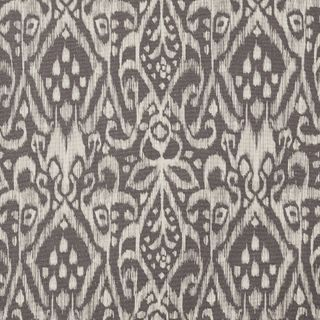 Brown fabric swatch featuring white boho inspired pattern in living etc range