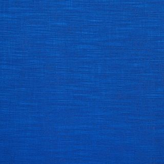 Plain blue fabric swatch in living etc range