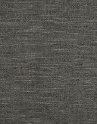 Dark grey plain fabric swatch in living etc range