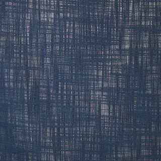 Unlined Navy blue color fabir swatch in living etc range