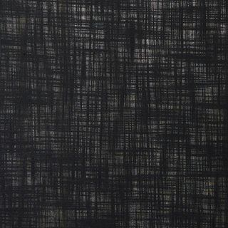 Unlined Black color fabir swatch in living etc range
