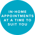 Hillarys in home appointments logo