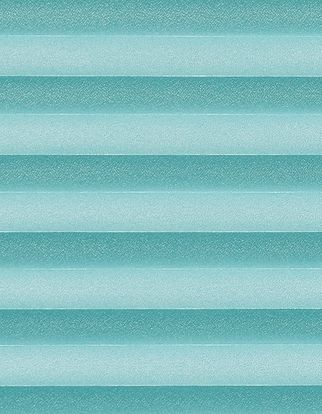 Turquoise textured swatch for pleated blinds