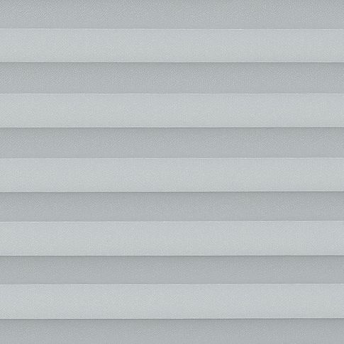 Silver textured  swatch for pleated blinds