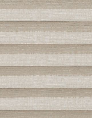 Light brown textured swatch for pleated blinds
