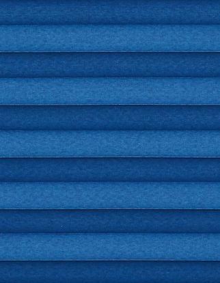 Blue plain  swatch for pleated blinds