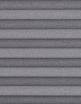 charcoal textured  swatch for pleated blinds