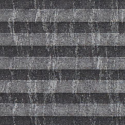 Dark grey and silver shiny effect  swatch for pleated blinds