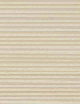 Cream and beige striped swatch for pleated blinds