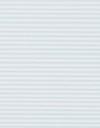 White  swatch for pleated blinds