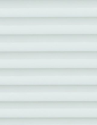 light blue swatch for pleated blinds