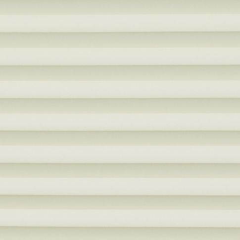 Cream swatch for pleated blinds