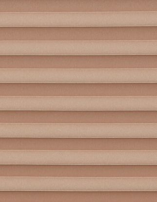 Copper swatch for pleated blinds