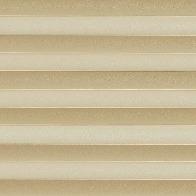 Gold swatch for pleated blinds
