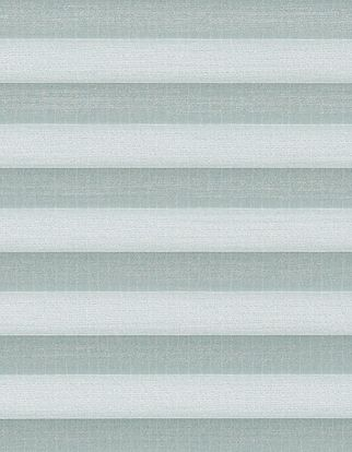Light blue textured swatch for pleated blinds