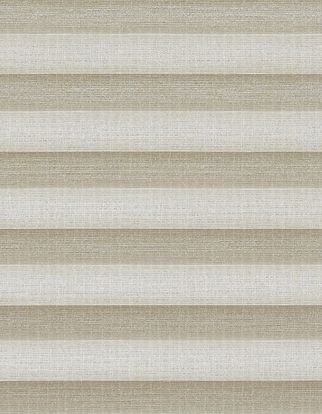 Cream textured  swatch for pleated blinds