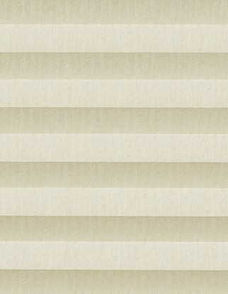 Cream shimmer swatch for pleated blinds