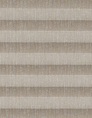 Fawn shimmer swatch for pleated blinds