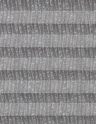Grey shimmer textured swatch for pleated blinds