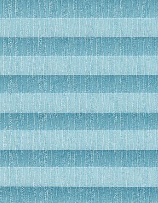 Teal textured swatch for pleated blinds