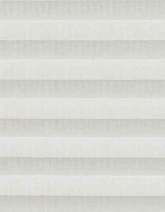 White textured swatch for pleated blinds