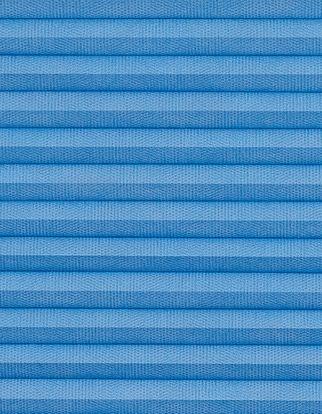 Thermashade blue swatch for pleated blinds