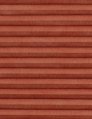 Thermashade red swatch for pleated blinds