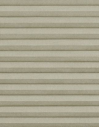 Thermashade Taupe swatch for pleated blinds