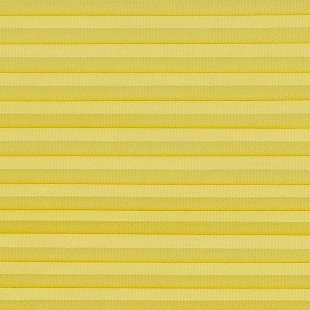 Thermashade yellow swatch for pleated blinds
