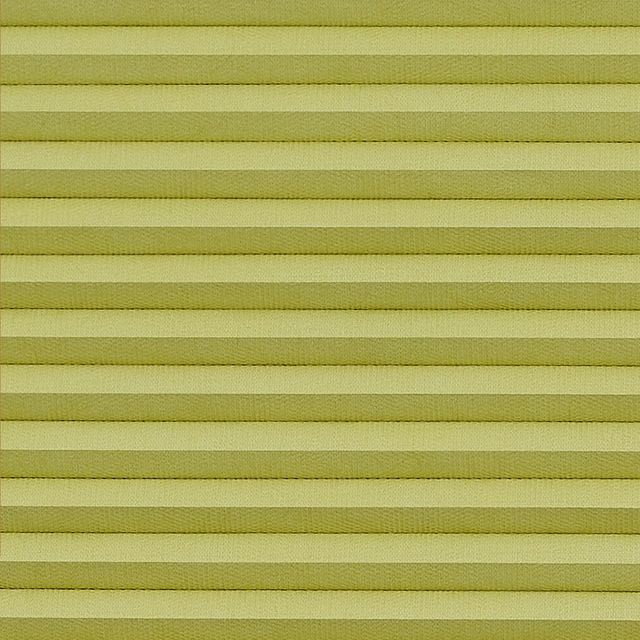 Thermashade blakcout green swatch for pleated blinds