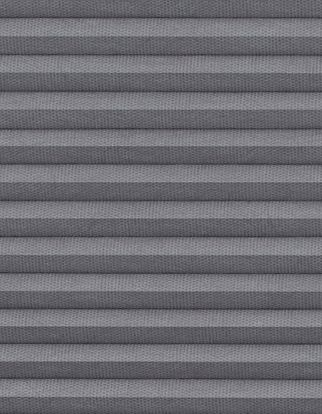 Thermashade blackour grey swatch for pleated blinds