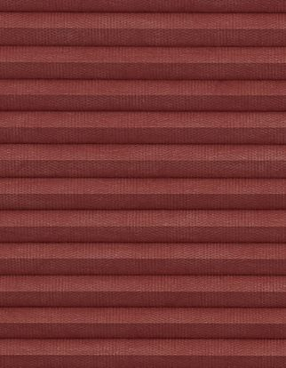 Thermashade dark red blackour swatch for pleated blinds