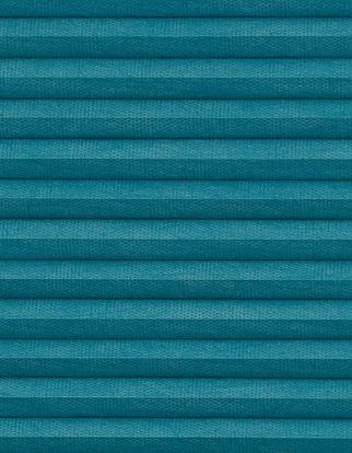 Thermashade blackout turquoise swatch for pleated blinds