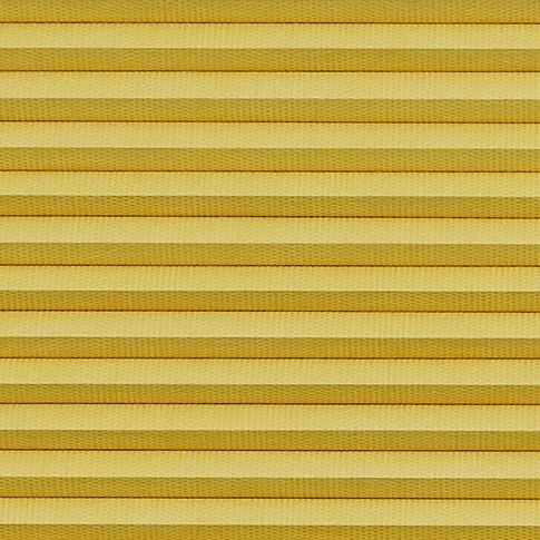 Thermashade blackout yellow swatch for pleated blinds