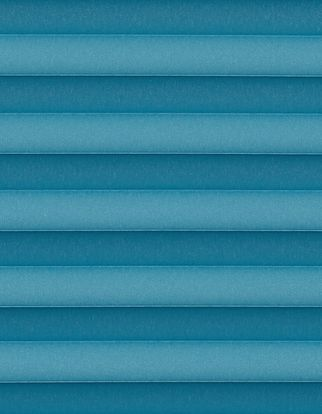 Blue swatch for pleated blinds
