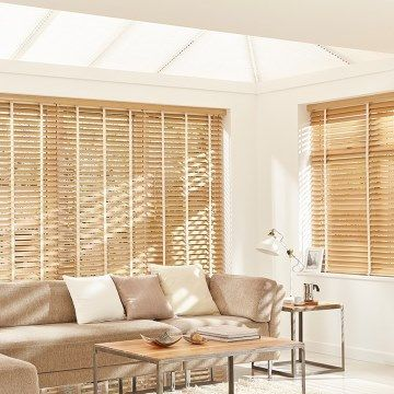 Wooden Blind_Haywood Scandinavian Beech_Living Room