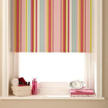 Pink Blinds Patterned And Hot Pink Blinds Hillarys