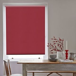 Roller Blind_Acacia Raspberry_Roomset