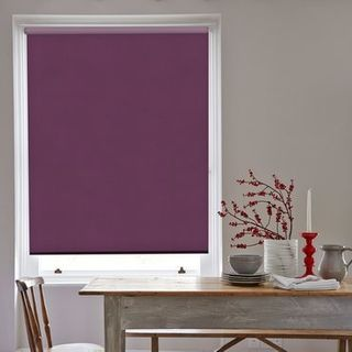 Roller Blind_Acacia Mulberry_Roomset