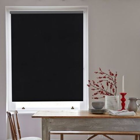Roller Blind_Acacia Black_Roomset