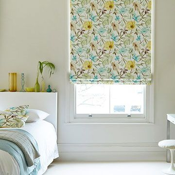Roman Blind_Origin Citrine_Bedroom