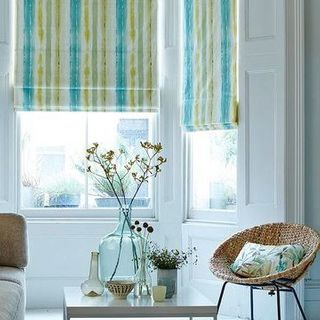 Roman Blind_Cascade Citrine_Living Room
