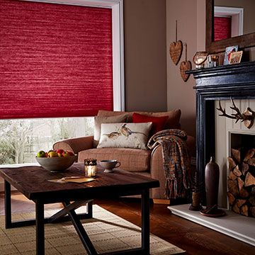Pleated Blind_Thermashade Chili_Living Room Part 62